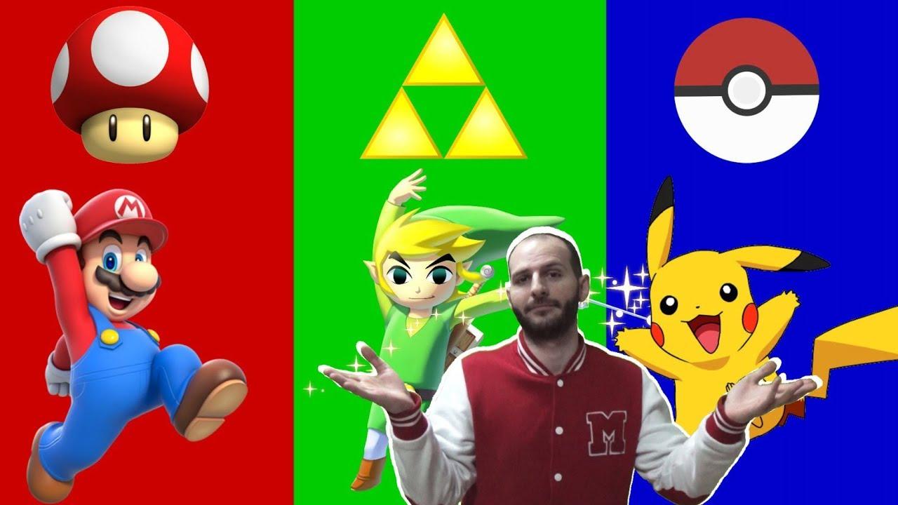 ¡LOS JUEGOS MÁS ENVIDIADOS DE NINTENDO! - Sasel - Nintendo ...