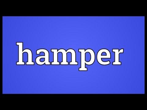 Hamper Meaning