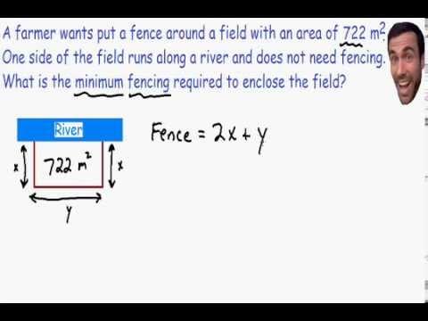 Optimization - Calculus - YouTube