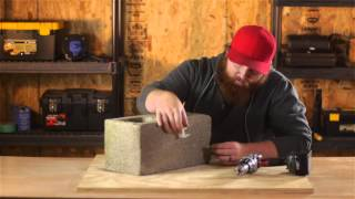 How to Attach Curtain Rods to a Block Wall : Nails, Screws & Wall Hangings