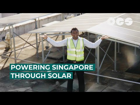 Making Room For Solar Power In Sunny Singapore