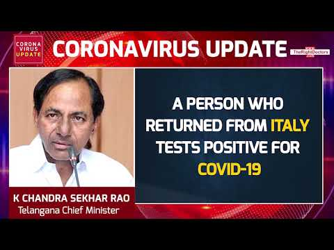 Another COVID-19 Case Confirmed In Telangana: KCR | TheRightDoctors