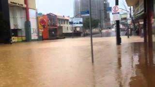 Enchente em Jaraguá do Sul junho de 2014