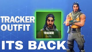 THE OG TRACKER SKIN IS BACK IN FORTNITE (TRACKER SKIN RETURNS)