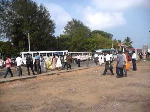 Sri Lanka,ශ්රී ලංකා,Ceylon,Galle,Train Station Railway Station streetlife