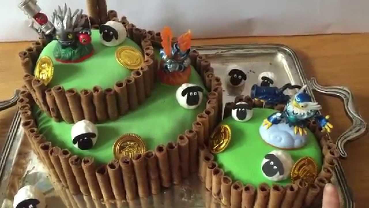 Skylanders Cake Youtube