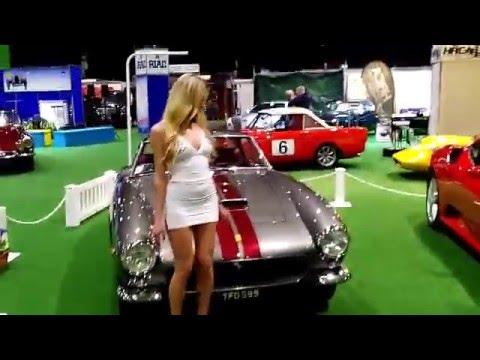 The Ferrari Club Ireland at the Classic Car Show,Dublin