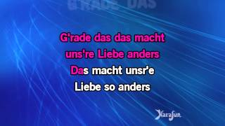 Karaoke Ich bin wie du - Marianne Rosenberg *