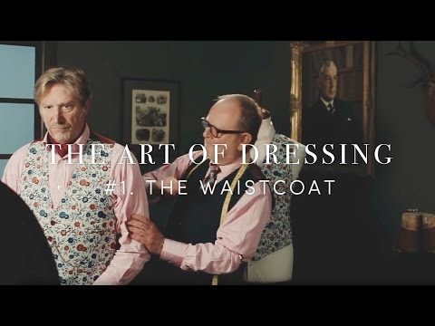 How To Wear A Waistcoat/Vest (The Art Of Dressing)