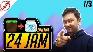 Dirt to DL Dalam 24 Jam - Growtopia Indonesia 2018 (Part 1)