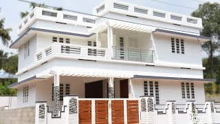 Angamaly, 5 cents plot and 1800 sq ft, medium budget house