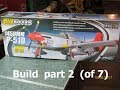 FMS 1450mm P-51 Build part 2 of 7 (starting the Assy.)