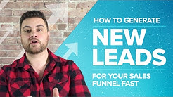 How to Generate New Leads for Your Sales Funnel Fast - Proposify Biz Chat