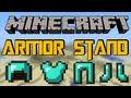 MINECRAFT MOD: ARMOR STAND [1.6.4] - HD [German/Deutsch] Review/Tutorial