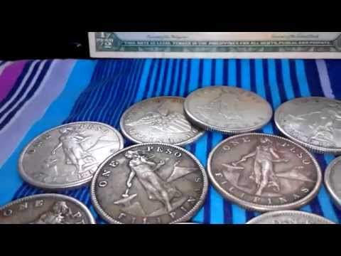 PHILIPPINES OLD SILVER COINS 2