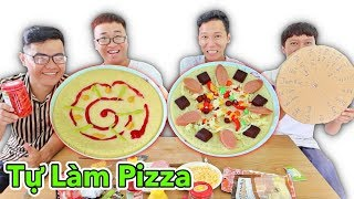 LamTV - Trận Chiến Tự Làm Pizza Phiên Bản Vòng Quay Địa Ngục - Vòng Quay Pizza   Pizza Battle