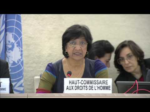 """""""Security Council has failed with regard to Syria."""" - UN Human Rights Chief"""