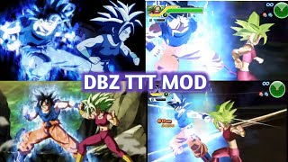NEW DBZ TTT MOD BT3 ISO With New Goku Ultra Instinct And Hit DOWNLOAD
