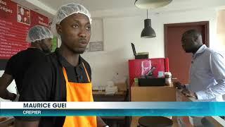 Dossier: Un jeune ivoirien met fin à sa carrière de banquier pour la crêperie