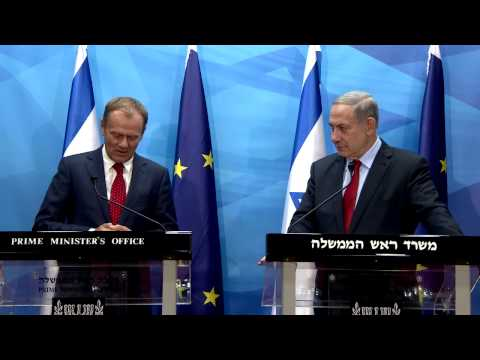 Statements by PM Netanyahu and President of the European Council Tusk