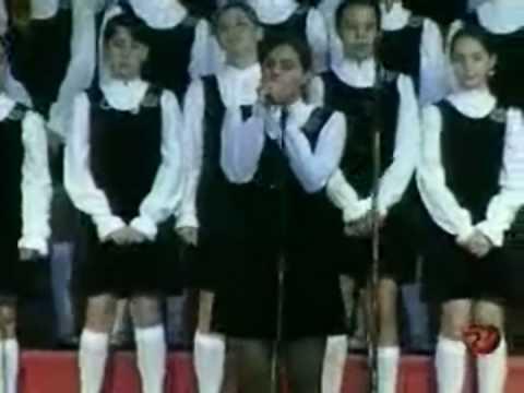 Varginha MG. Natal TV Alterosa 2008 com as Meninas Cantoras de Petrópolis.