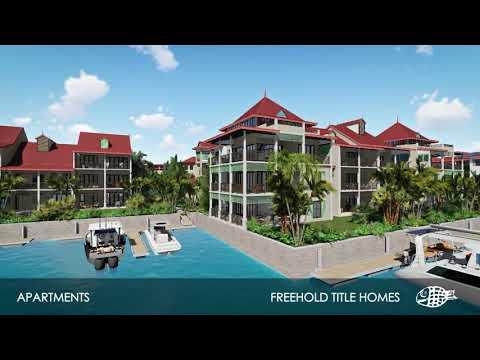 New Apartments in Basin 6 | Eden Island Seychelles