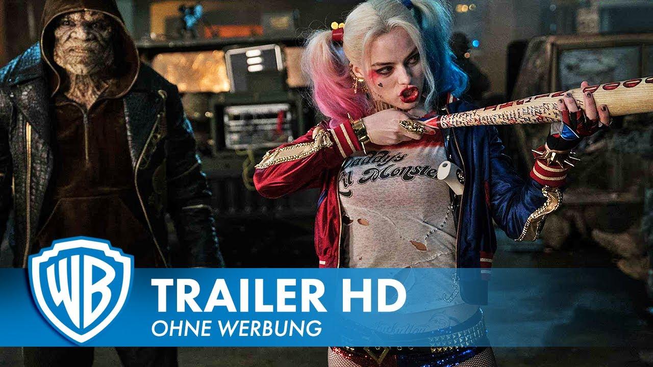 SUICIDE SQUAD - Trailer #1 Deutsch HD German (2016)
