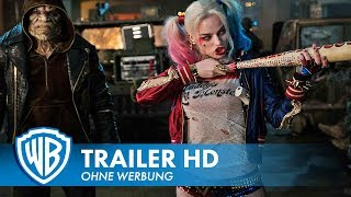 SUICIDE SQUAD - Trailer #1 Deutsch HD German (2016)