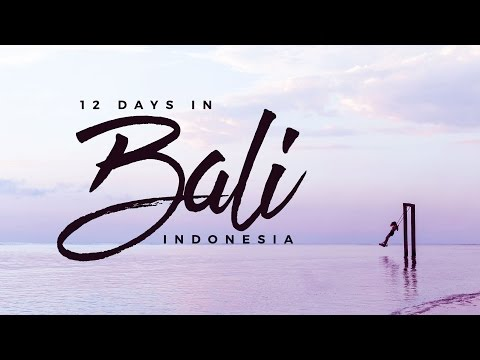 Awesome Things to Do in Bali, Indonesia! ?? (A 12-Day Travel Itinerary feat. Balintro Tours)