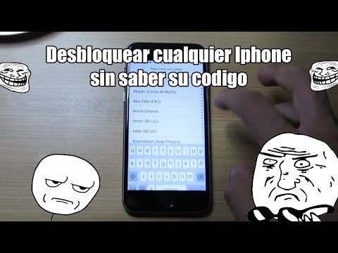 desbloquear iphon 6 s con codigo