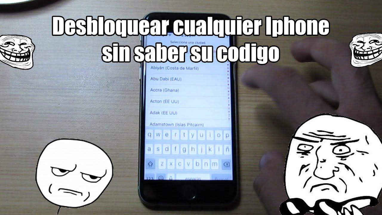 Como Desbloquear Iphone Sin Codigo 2019
