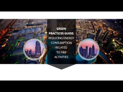 Green Practices Guide: Reducing energy consumption related to F&B activities