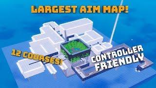 ¡Mapa de objetivo más grande! ¡Controlador amigable! - (Fortnite Battle Royale)