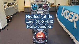 First look at the Laser SPK-F340 Party Speaker