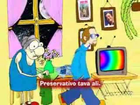VÍDEO COM A MUSICA RAP DA PREVENÇÃO CONTRA AIDS