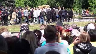 Похороны Жанны Фриске на Николо-Архангельском кладбище