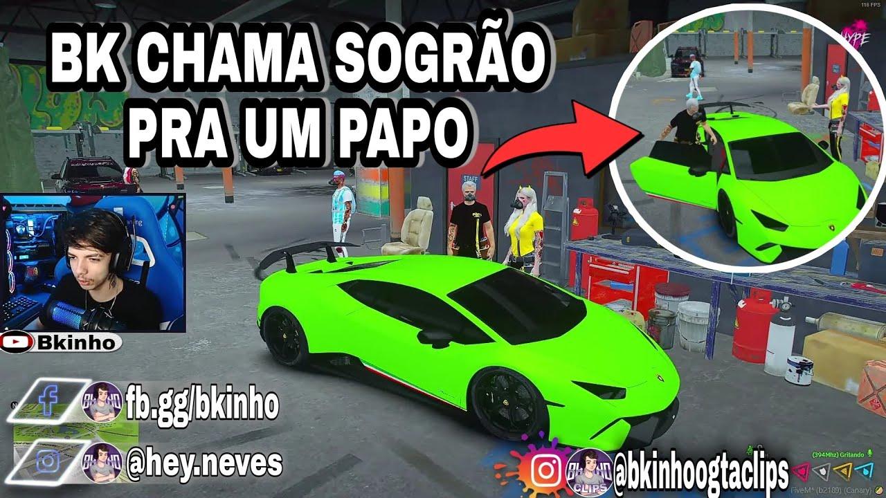 Bkinho CLIPS | BK CHAMA O SOGRÃO DE CANTO • GTA RP CIDADE HYPE