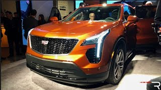 2019 Cadillac XT4 – Redline: First Look – 2018 NYIAS