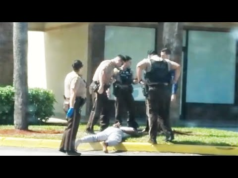 Video Shows Miami-Dade Police Officer Kicking Handcuffed Suspect