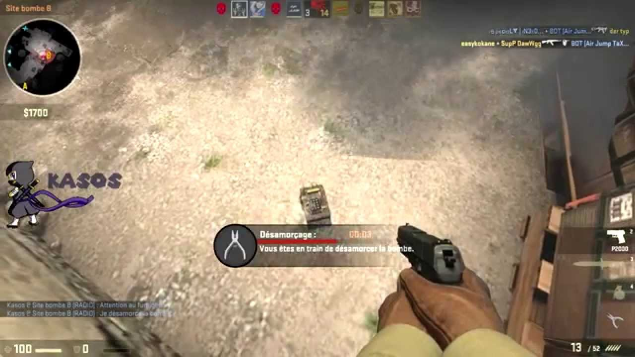 how to add bots in csgo private match
