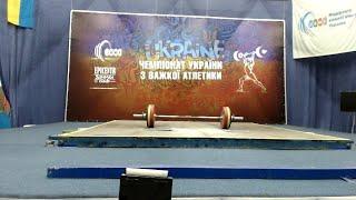 Чемпіонат України з важкої атлетики серед юнаків та дівчат до 17 років. 3 день