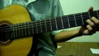 Bước chân lẻ loi - Guitar cover