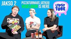 """LYPSYTUBE JAKSO 2: Pizzaturnaus feat. Jaajo Linnonmaa, Tuukka """"Tukeshow"""" Ritokoski ja Anni Hautala"""
