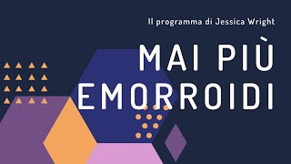 Mai Più Emorroidi PDF Download [libro di Jessica Wright]