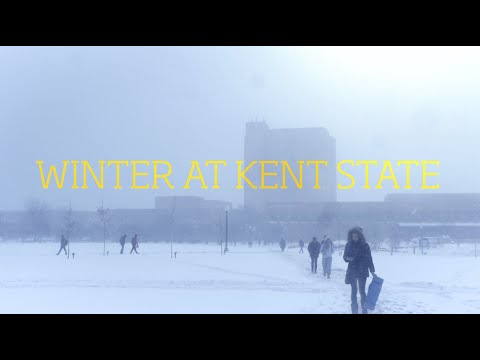 Winter at Kent State 2016
