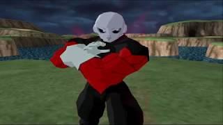 Jiren vs Goku Ultra Instinct   DBZ Tenkaichi 4 BETA6