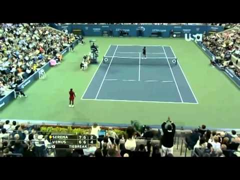 Best points from women's tennis compilation.