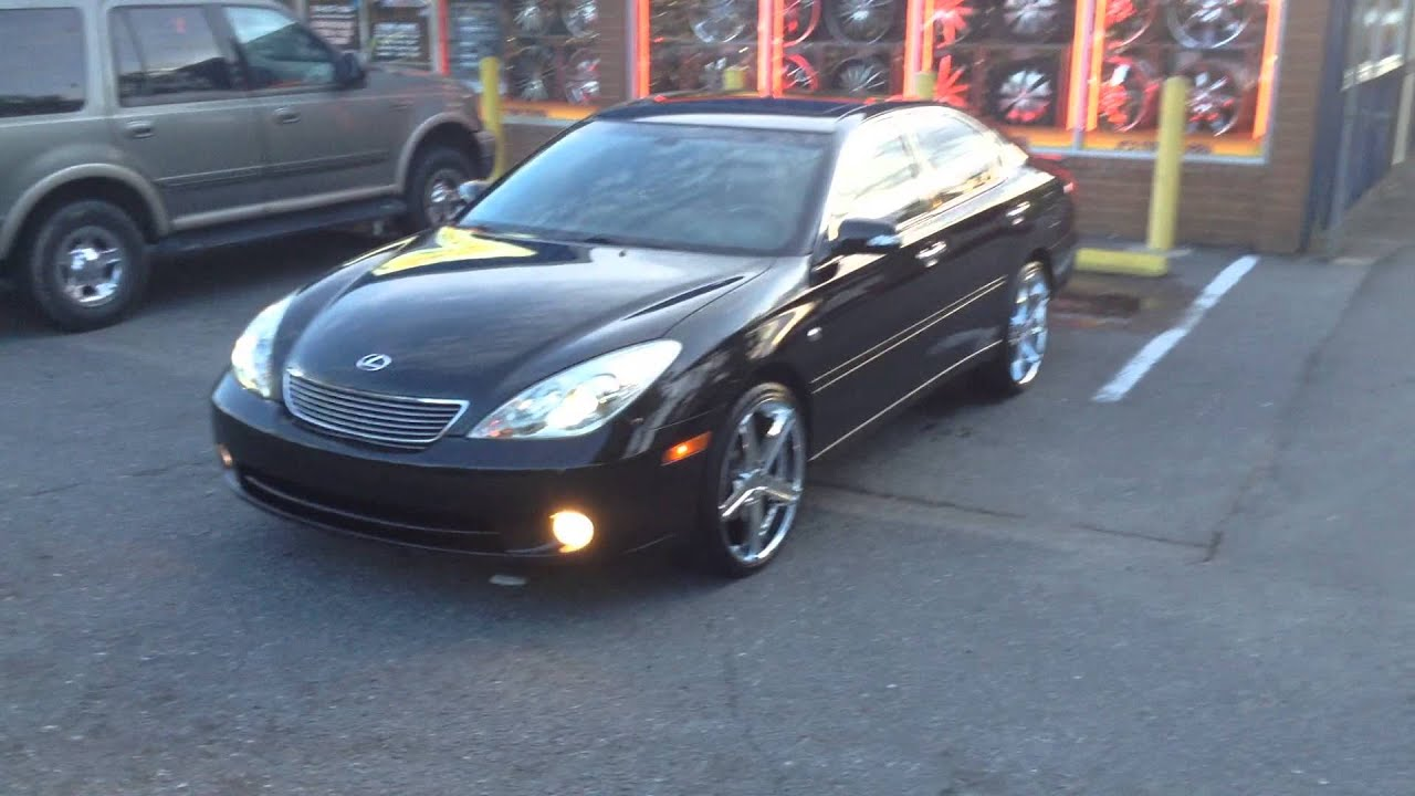 """Lexus Of Charlotte >> Rimtyme of Charlotte rolling out a 2006 Lexus ES330 sitting on some 20"""" Elure rims - YouTube"""