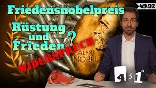 Friedensnobelpreis | Finanzierung von Frieden und Krieg | 451 Grad 49.92