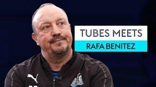 Will Rafael Benitez still be at Newcastle United next season? | Tubes Meets Rafa Benitez